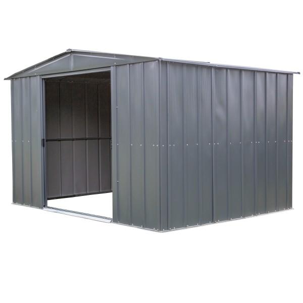 "Metallgerätehaus ""10x8"" grau"