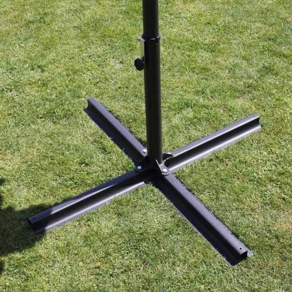Kreuzsständer zum Oval-Schirm