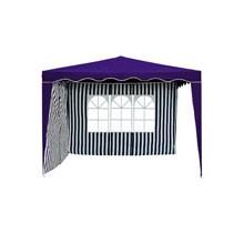 Seitenteil-Set für 3 x 4 m Pavillon Polyester