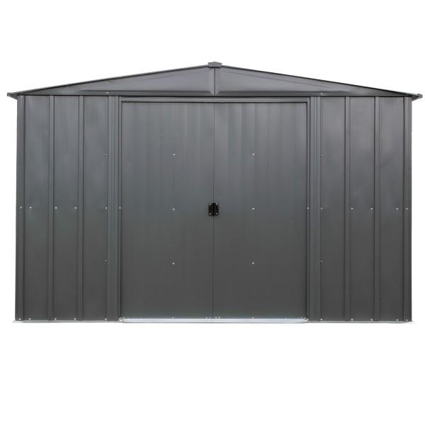 "Metallgerätehaus ""10x10"" grau"