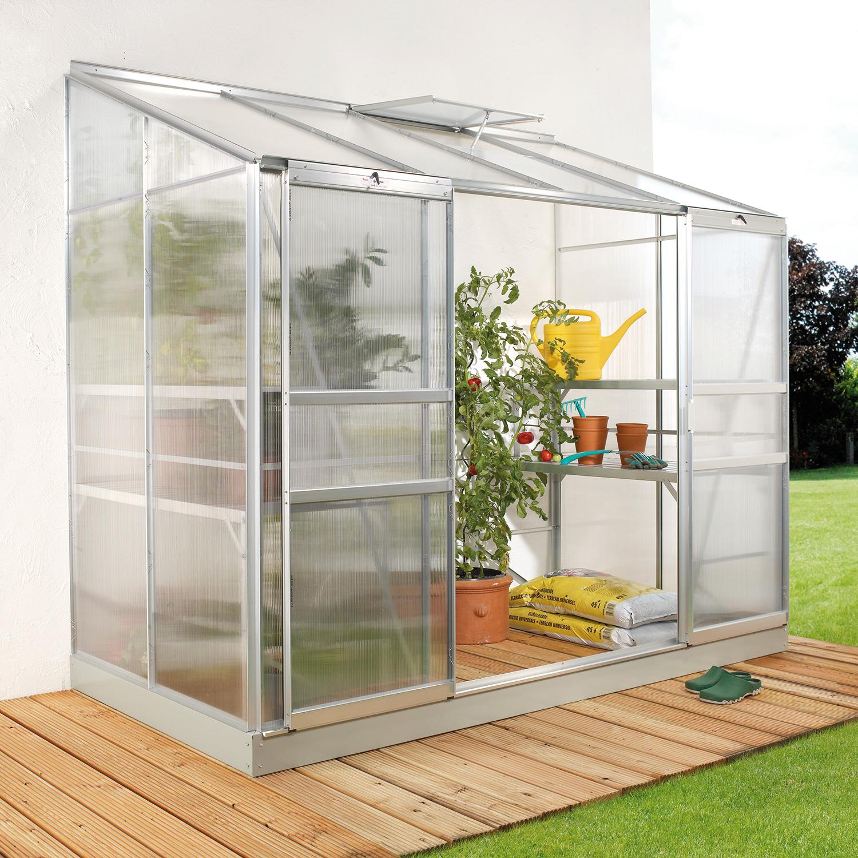 anlehn gew chshaus ida 3300 f r balkon und terrasse. Black Bedroom Furniture Sets. Home Design Ideas