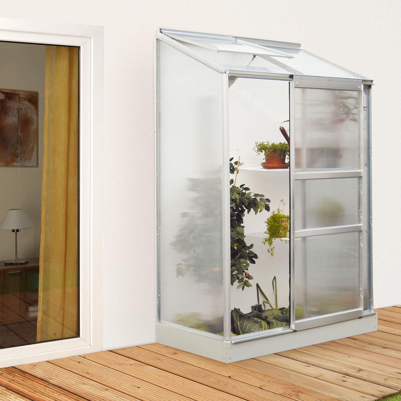 anlehn gew chshaus ida 900 f r balkon und terrasse. Black Bedroom Furniture Sets. Home Design Ideas