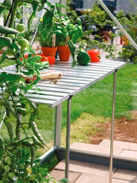 Aluminium-Tisch
